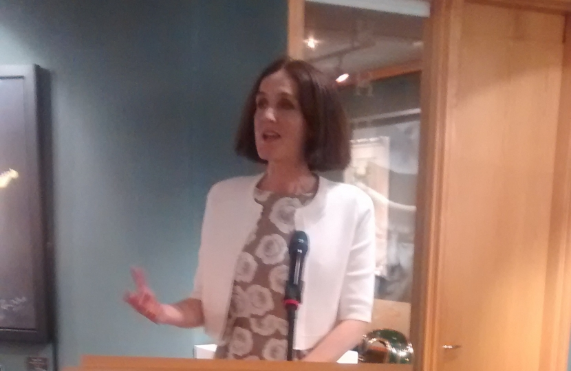 Theresa Villiers offers support to British Tamil Conservatives