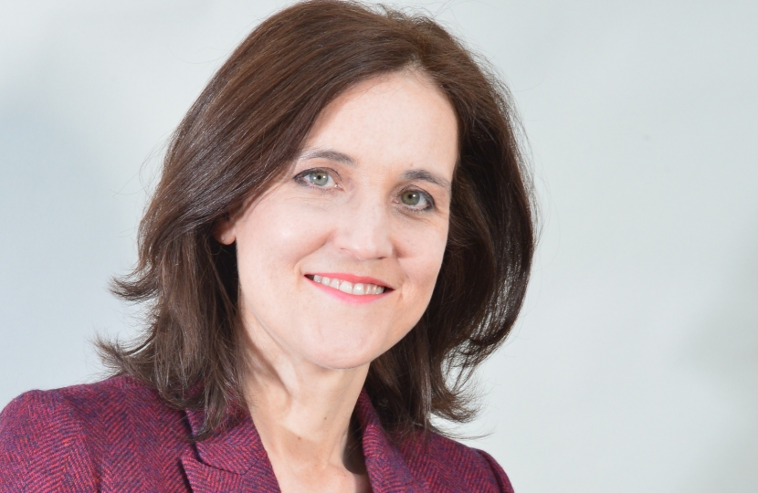 Portrait photo of Theresa Villiers MP