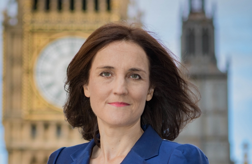 Theresa Villiers MP portrait photo