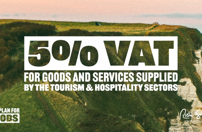 5% VAT for hospitality sector